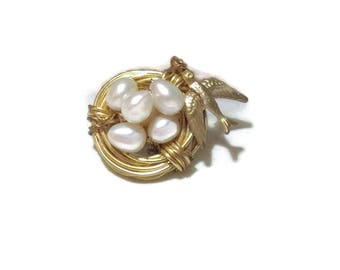 Vintage Birds Nest Ring