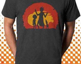 Rick and Morty T-Shirt | Wubba Lubba Dub Dub!