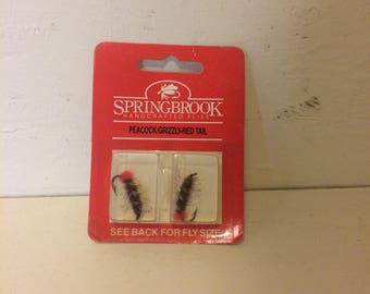 Vintage Fly Fishing Lures by Springbrook