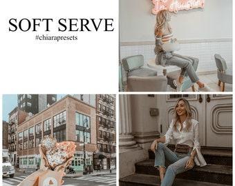 Soft Serve - SingleLightroom Preset