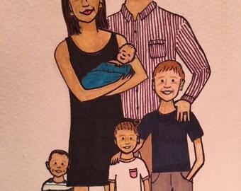 Custom Family Portrait 2