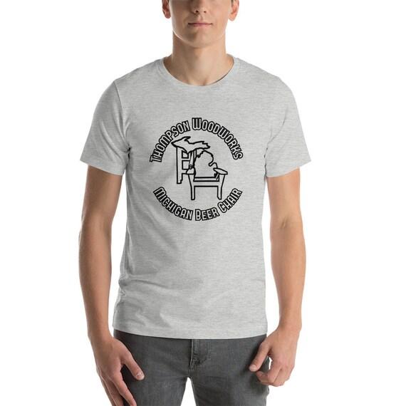 Michigan Beer Chair Short-Sleeve Unisex T-Shirt