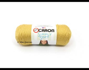 Caron Simply Soft Yarn, Autumn Maize, 6oz