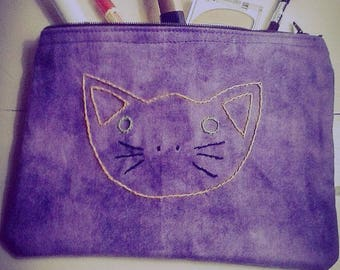 Kitty Face Make-up Bag