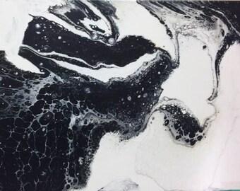 Black N White Art- Title: Ink Blot Series
