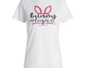 Bunny love Ladies T-shirt bb271f