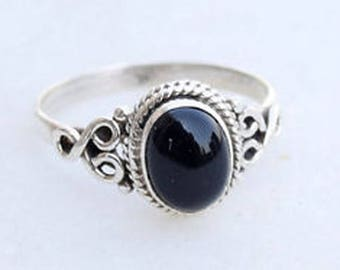 dunn georgina rings black jewellery shop set decorative ring onyx oval onix