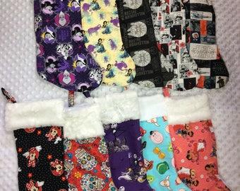 Custom handmade stocking