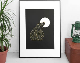 The Bear - Limited Edition Screen Print