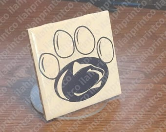 Paw Print  //  Penn State University  //  PSU  //  Pennsylvania  //  Nittany Lion //  Logo  --  Decal