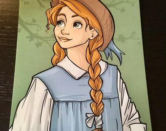 """Anne with an """"e"""" Postcard (Item 09-380)"""