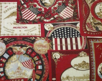 Americana Fabric 55 Linen 45 Rayon 54 Inches Wide