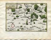 1634 Nicolas Tassin Map L...