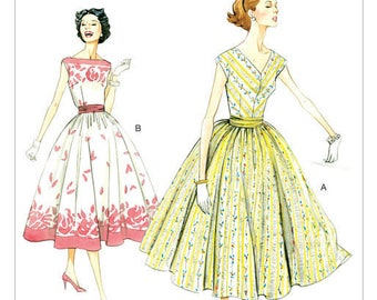 By Vogue V8789 retro vintage sewing pattern