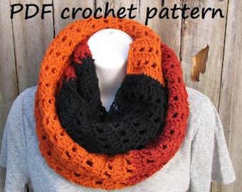 Crochet Scarf, Neck warmer, Pdf pattern, Easy, Great for Beginners, Scarf Crochet, Pattern No. 25