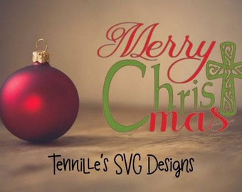 Merry Christ-Mas SVG, Cricut Design Space, Cricut, Christ, Merry Christmas