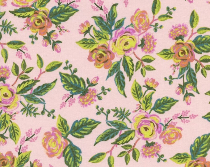 Menagerie by Rifle Paper Co for Cotton + Steel - Jardin De Paris Peony - Cotton Woven Fabric