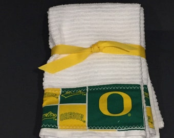 Oregon Ducks Hand Towels