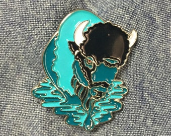 Water Protector (Enamel Pin) for Standing Rock