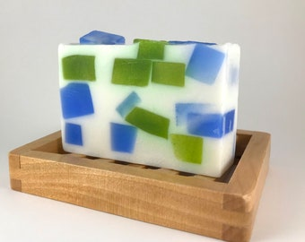 Pearberry soap, glycerin soap, shea butter soap, handmade natural soap, homemade vegan soap, detergent free, colorful soap bars, soap gift