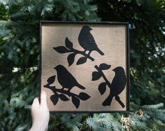 Bird Wall Sign