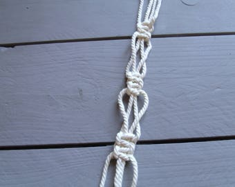 Macrame Twine O 3.5 mm off white cotton cord rope