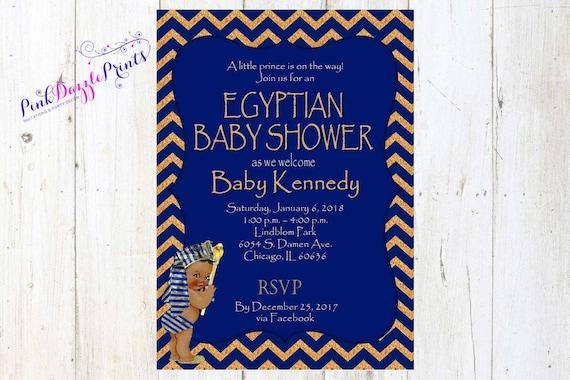 Egyptian Baby Shower Baby Pharaoh Egyptian Prince Baby