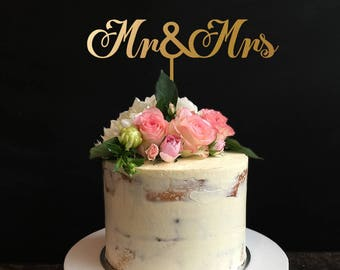 Mr & Mrs cake toppers, Mr And Mrs Black Cake Topper,Personalized Cake Topper, Custom Cake Topper for Wedding, Anniversary, Birthday