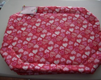 Valentine's Placemats - Set of 4