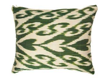 pine green ikat pillow,green pillows,dark green pillow,green lumbar,green patio pillows,ikat pillow,green ikat pillows,ikat  pillows,silk