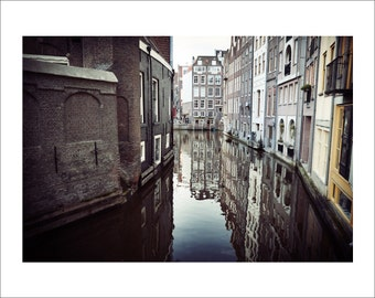 Amsterdam Canals - Color Photo Print - Fine Art Photography (AM03)