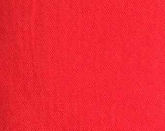 Orange Cotton Voile Fabric - 2 Yards