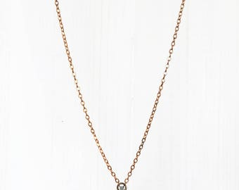KYANITE CHIP + PENDANT || natural kyanite chip pendant necklace
