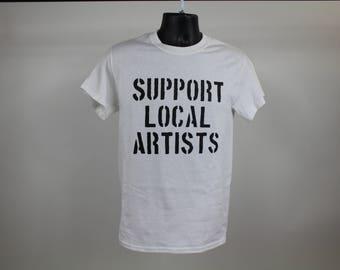 Support Local Artist OG - White