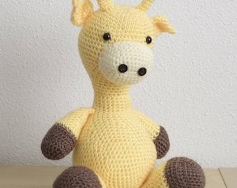 Amigurumi Giraffe Handmade to crochet