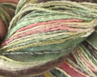 Bamboo Bloom Handpaints - Pagoda - Thick Thin Art Yarn