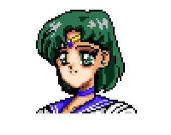 Sailor Mercury Bust
