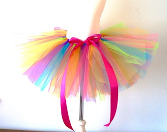 Toddler Tutu - Rainbow Tutu - Multicolored Tutu