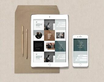 SALE! Photography Templates - Instagram Stories - Pinterest Templates - Facebook Timeline Cover - Social Media Graphics