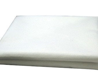 Free Shipping Chinese Calligraphy Material  1.2x0.8m Wool Felt / Wool Felt Pad / Wool Felt Mat - Wool Blend - Natural White -  0002
