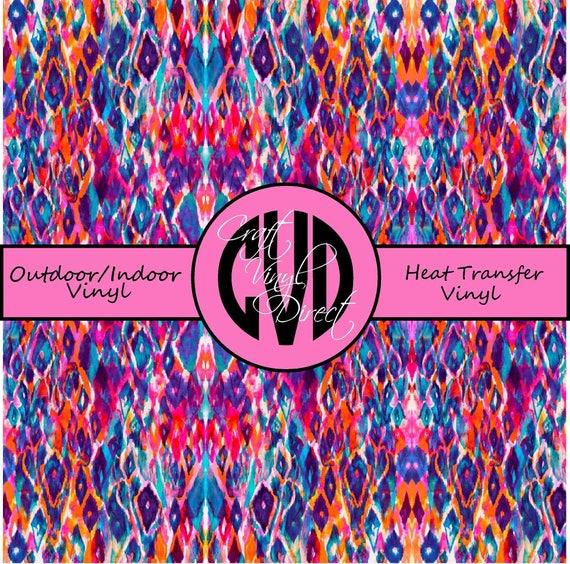 Beautiful Patterned Vinyl // Patterned / Printed Vinyl // Outdoor and Heat Transfer Vinyl // Pattern 723