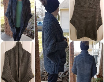 Snuggle Up Sweater. Chunky, Oversized Comfy Sweater.