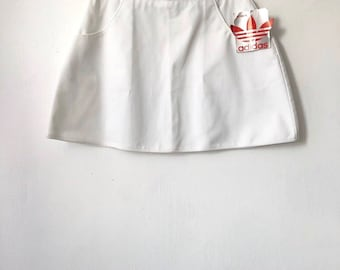vintage adidas tennis skirt womens size 14 deadstock NWT 80s made in USA