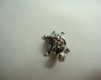 bead turtle silver metal for creation