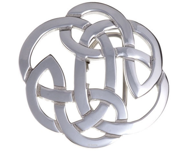 Lughs knot belt buckle 40mm -Hand Made and Design in UK