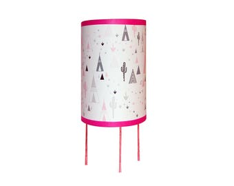 """Lamp """"in my pink teepee"""""""