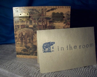 Elephant in the Room blank card