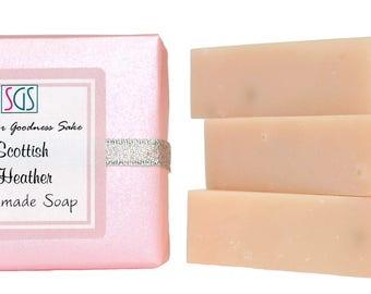 Soap for Goodness Sake Scottish Heather Soap