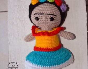 Frida Khalo Amigurumi