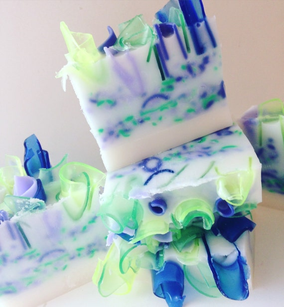 LIME & LAVENDER Artisan Shea Butter Soap {Nectars and Blossoms Collection}